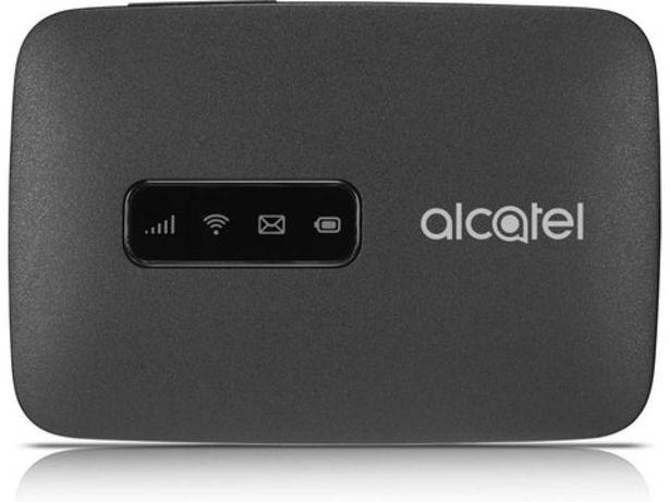 Oferta de Router Alcatel Linkzone WiFi MW40 4G Preto por 39,99€