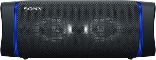 Oferta de Coluna Portátil Sony SRS-XB33B Bluetooth Preto por 119€
