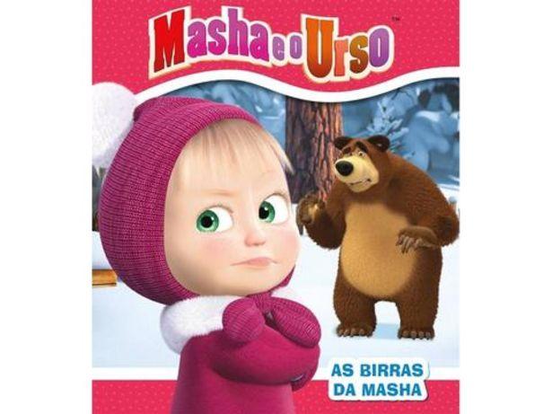 Oferta de Livro Masha e o Urso – As Birras da Masha por 7,5€