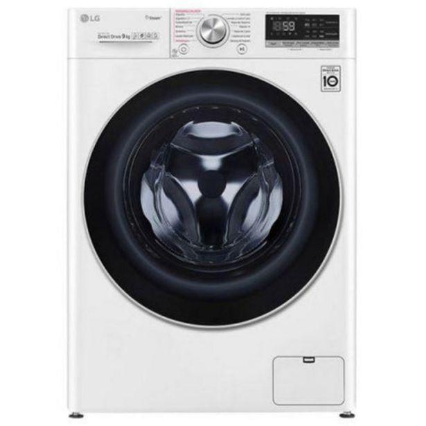 Oferta de Máquina Lavar Roupa LG F4WV5009S0W 9Kg 1400RPM Classe A+++ por 479€