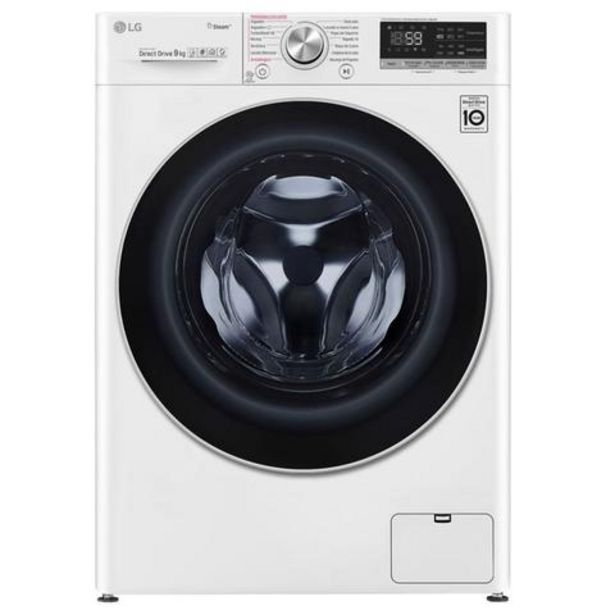 Oferta de Máquina Lavar Roupa LG F4WV5010S0W 10.5Kg 1400RPM Classe A+++ por 649€