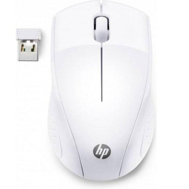 Oferta de Rato sem Fios HP 220 Branco 1600 DPI por 14,99€