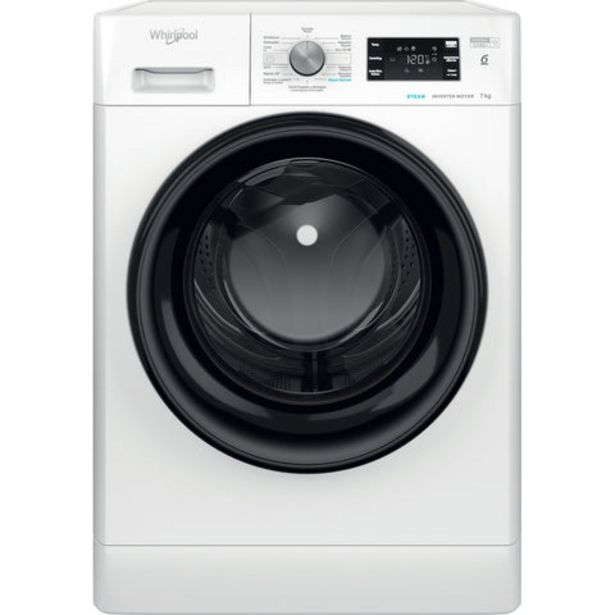Oferta de Máquina Lavar Roupa Whirlpool FFB 7238BV PT 7KG 1200RPM Classe A+++ por 359€