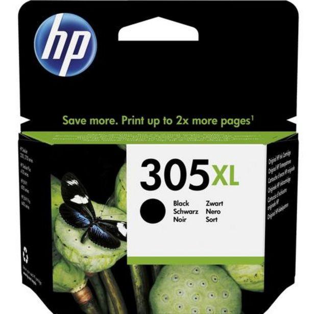 Oferta de Tinteiro HP 305XL Preto (3YM62AE) por 24,99€