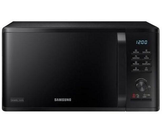 Oferta de Microondas Samsung MS23K3515AK/EC 800W 23L por 99€