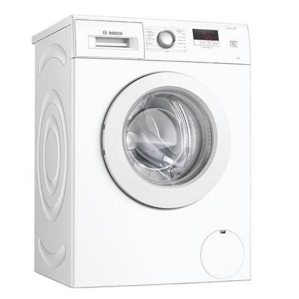 Oferta de Máquina Lavar Roupa Bosch WAJ24061EP 7Kg 1200RPM A+++ por 388€