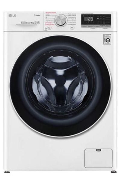 Oferta de Máquina Lavar Roupa LG F4WV3008S6W 8Kg 1400RPM Classe A+++ por 499€