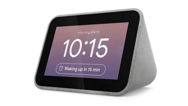 Oferta de Relógio Smart Lenovo Smart Clock por 59,99€