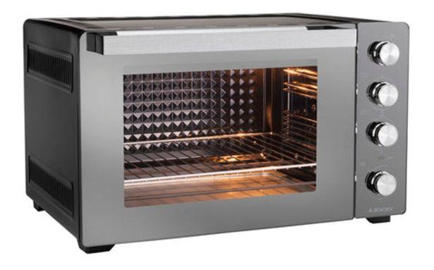 Oferta de Forno Elétrico Jocel JFE60-014962 (60 L - 2200 W) por 129€