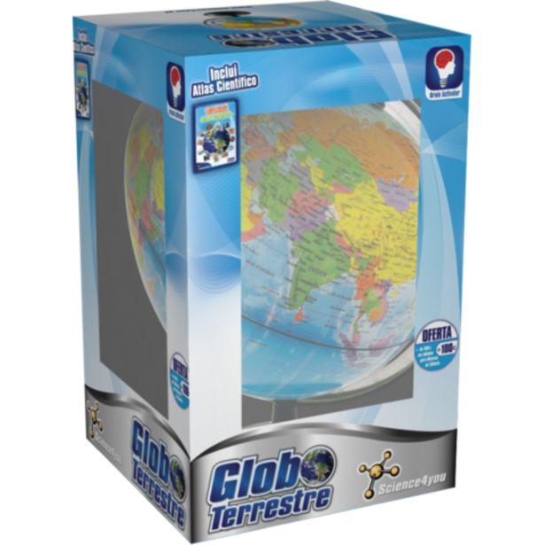 Oferta de Jogo Didáctico Science4you Globo Terrestre + Atlas por 24,99€