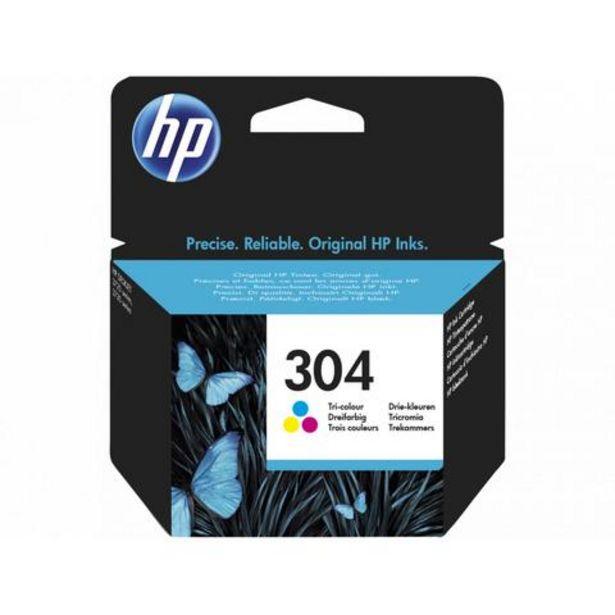Oferta de Tinteiro HP Tinteiros 304 Tricolor HPN9K05AE por 13,99€