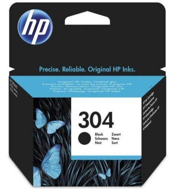 Oferta de Tinteiro HP 304 Preto (N9K06AE) por 13,99€