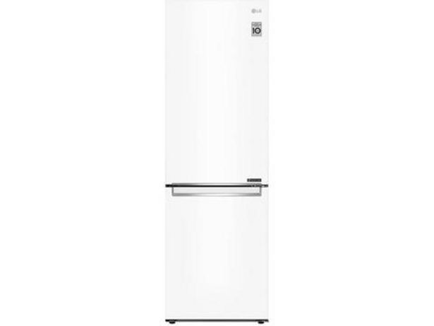Oferta de Frigorífico Combinado LG GBB61SWJMN 341L No Frost Classe A++ Branco por 555€