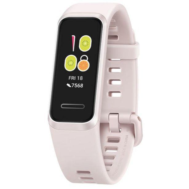 Oferta de SmartBand Huawei Band 4 Rosa por 29,99€