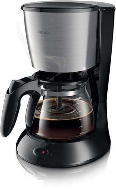 Oferta de Máquina Café Filtro Philips HD7462/20 por 49,99€