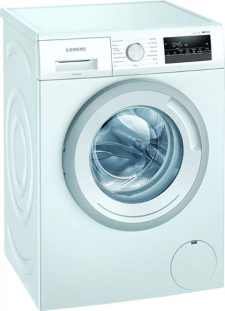 Oferta de Máquina Lavar Roupa Siemens iQ300 WM12N269EP 8Kg 1200RPM A+++ por 469€