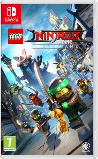 Oferta de Jogo Switch The Lego Ninjago Movie Vg por 39,9€