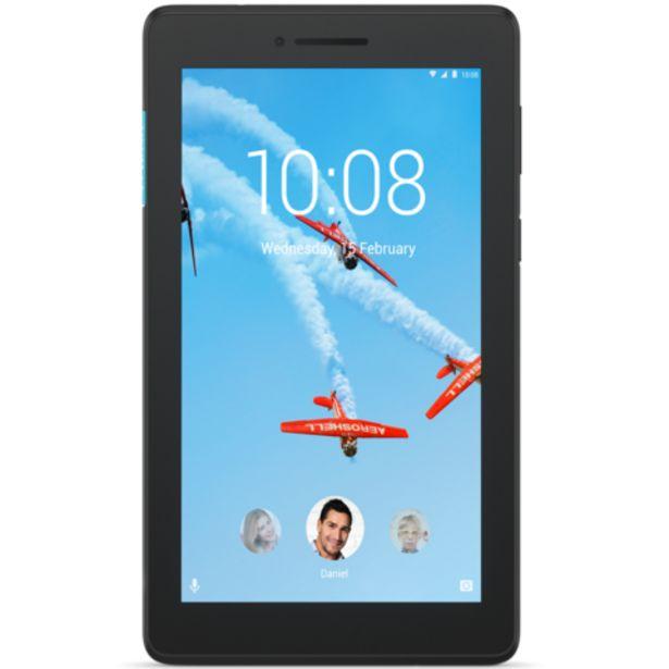 "Oferta de Tablet Lenovo Tab E7 TB-7104F Preto - 7"" 16GB 1GB RAM Quad-core por 99,99€"
