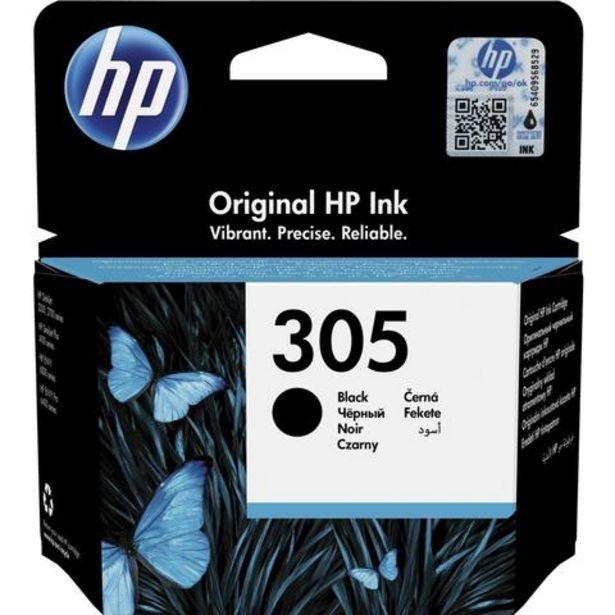 Oferta de Tinteiro HP 305 Preto (3YM61AE) por 14,99€