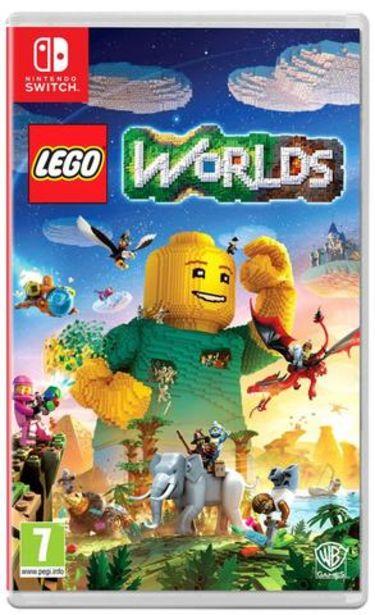 Oferta de Jogo Switch Lego Worlds (Pt) por 39,9€