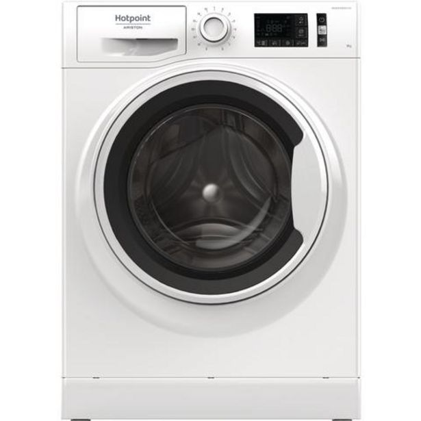 Oferta de Máquina Lavar Roupa Hotpoint-Ariston NLM11 925 WW A EU 9 Kg 1200 RPM Classe A+++ por 421€
