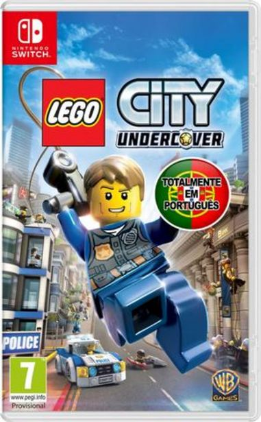 Oferta de Jogo Switch Lego City Undercover (Pt) por 39,9€