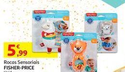 Oferta de Brinquedos bebé Fisher-Price por 5,99€