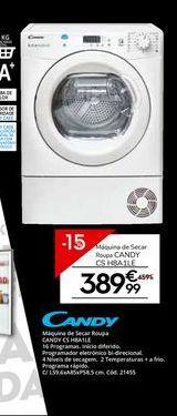 Oferta de Secadora Candy por 389,99€