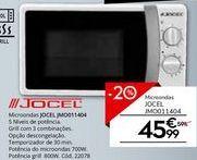 Oferta de Microondas Jocel por 45,99€
