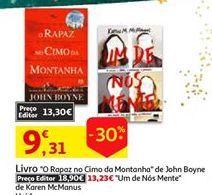 Oferta de Livros por 9,31€
