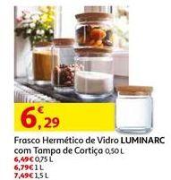 Oferta de Frascos hermético Luminarc por 6,29€