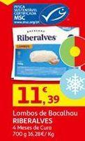 Oferta de Bacalhau Riberalves por 11,39€