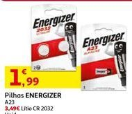 Oferta de Pilhas Energizer por 1,99€