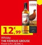 Oferta de Uísque the famous grouse por 12,99€