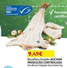 Oferta de Bacalhau por 9,49€