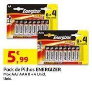 Oferta de Pilhas Energizer por 5,99€