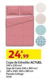 Oferta de Capa edredom Actuel por 24,99€