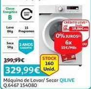 Oferta de Lavadora e secadora Qilive por 329,99€
