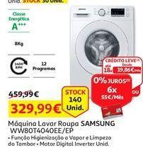Oferta de Máquina lavar roupa Samsung por 329,99€
