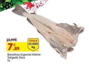 Oferta de Bacalhau salgado por 7,89€