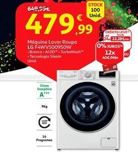 Oferta de Máquina lavar roupa LG por 479,99€