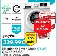 Oferta de Máquina lavar roupa Qilive por 229,99€