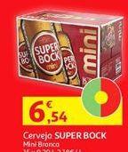 Oferta de Cerveja Super Bock por 6,54€