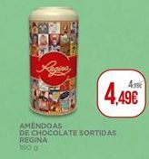 Oferta de Chocolates Regina por 4,49€
