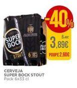 Oferta de Cerveja Super Bock por 3,89€