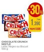 Oferta de Chocolates Crunch por 1,39€