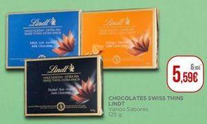 Oferta de Chocolates Lindt por 5,59€