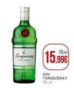 Oferta de Gin Tanqueray por 15,99€