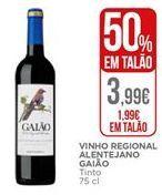 Oferta de Vinho tinto por 1,99€