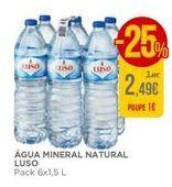 Oferta de Água Luso por 2,49€